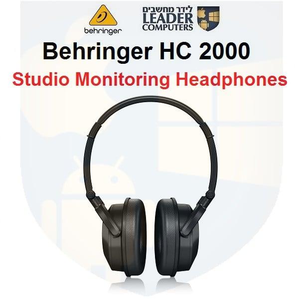 אוזניות ברנגר HC 2000