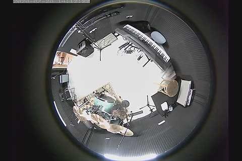 Rehearsal room from above | חדר חזרות מלמעלה | לידר מחשבים