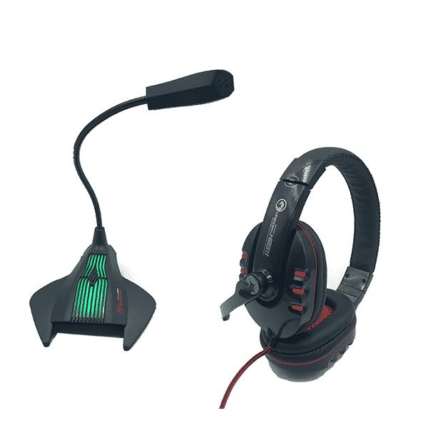 אוזניות ומיקרופונים לגיימרים